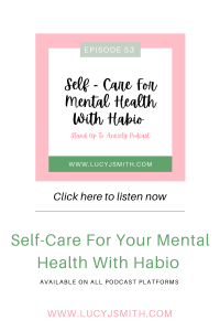 self-care for your mental health
