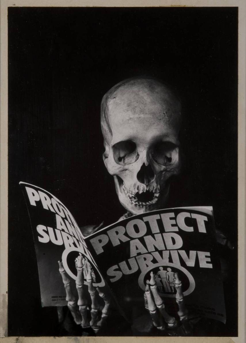 Protest and Survive 1980 by Peter Kennard born 1949