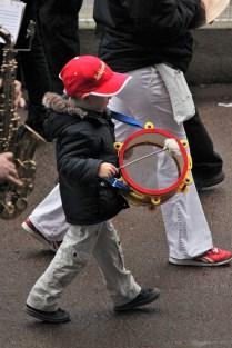 Le plus petit musicien de la journée !