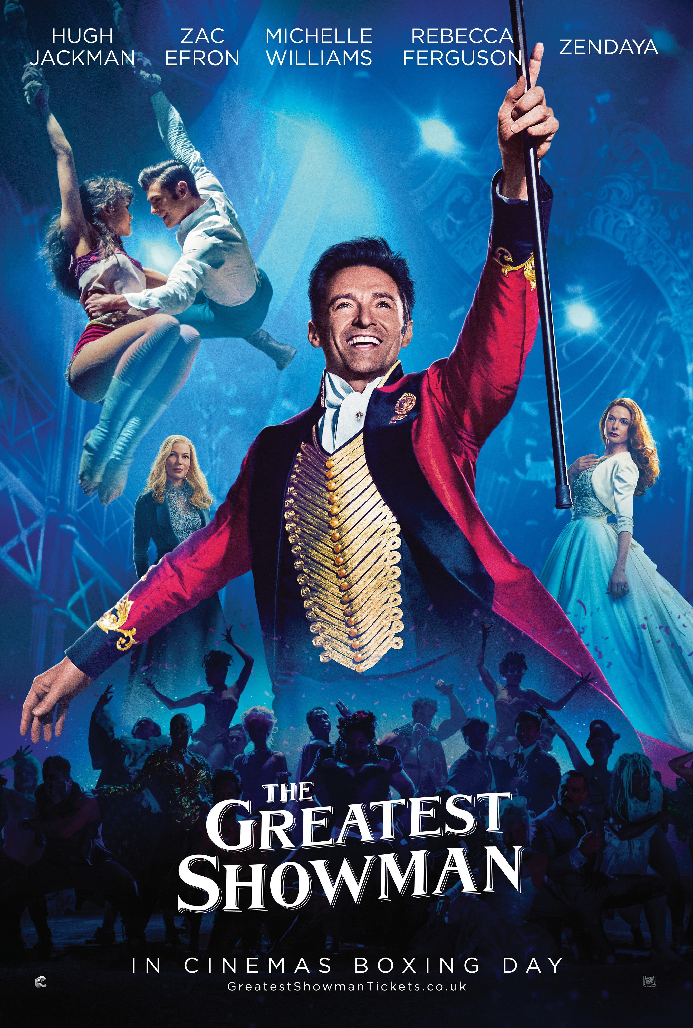Listen To The Full Soundtrack Of The Greatest Showman