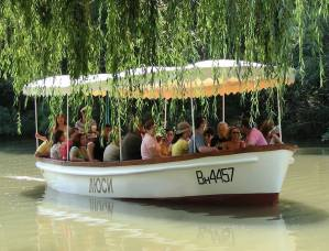 Boat trips on river Kamchia with motorboats Lucy & Longoz - the original!