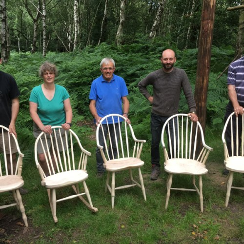 And then we were done! Now it's home, there is some minor finishing (sanding) to do, then I plan to oil it, probably with linseed oil. Many thanks to Peter Wood from Greenwood Days and the other members of the course – you made the week great fun – you all rock!