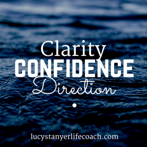 Clarity, confidence, direction. lucystanyerlifecoach.com