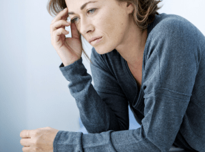 [Image of woman deep in thought] New blog post by Lucy Stanyer: Get unstuck for 2017 and jump start your business plan