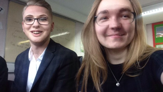 The face swap filter made business lessons that whole bit more interesting.