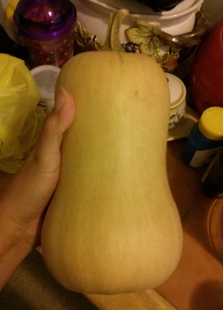 Fresh butternut squash