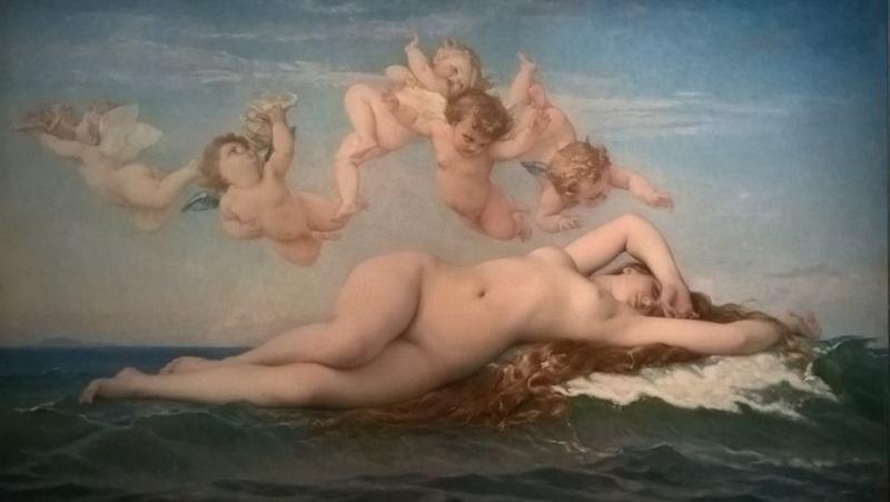 La Nascita di Venere,  quadro di Cabanel