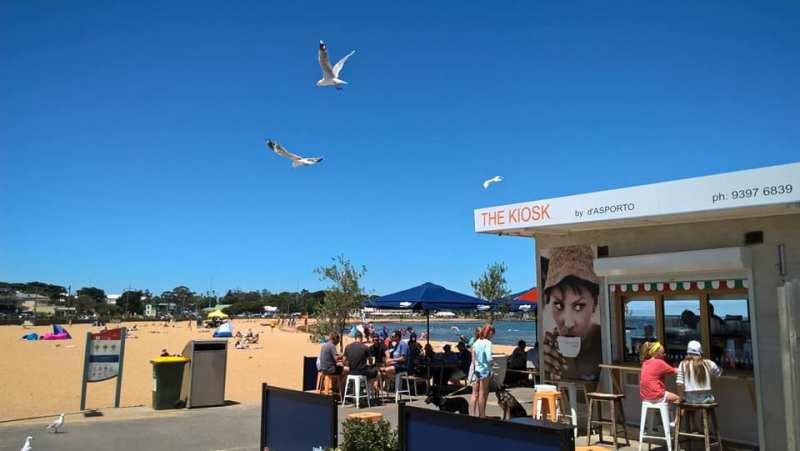 Caffè in Australia: berlo al chioschetto sulla spiaggia
