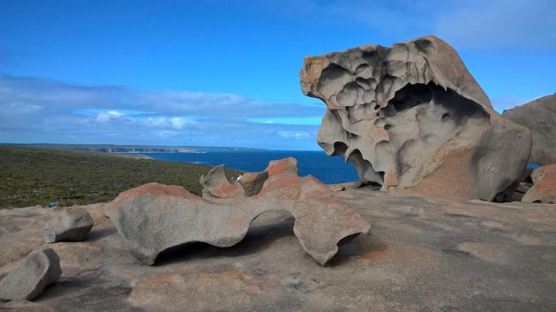 Kangaroo Island Remarkable Rocks formazione rocciosa