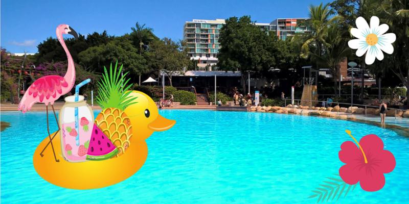 Brisbane, cosa vedere in 2 giorni? La piscina di Street Beach