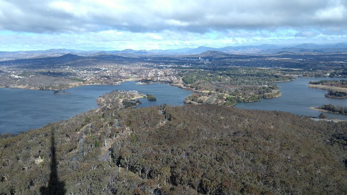 Canberra, la capitale dei fantasmi