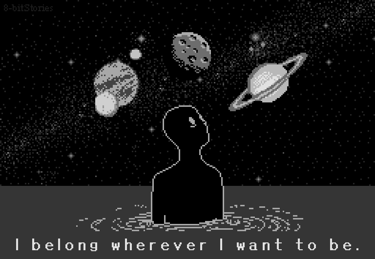 belonging in space