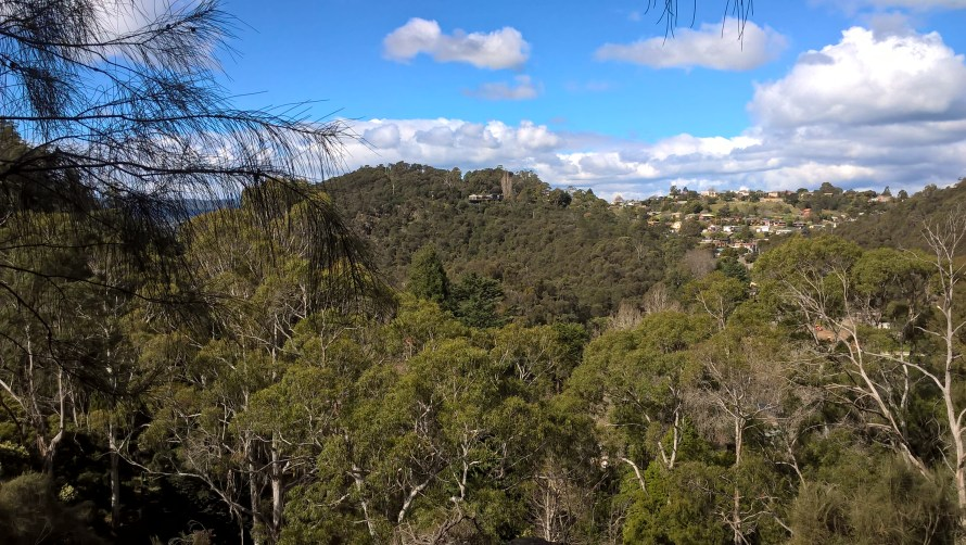 launceston panorama da cataract gorge