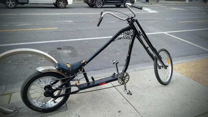 Bicicletta di Halloween