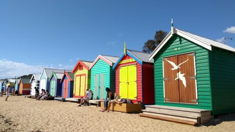 brighton bath boxes casette in spiaggia