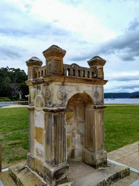 Port Arthur, tracce storiche