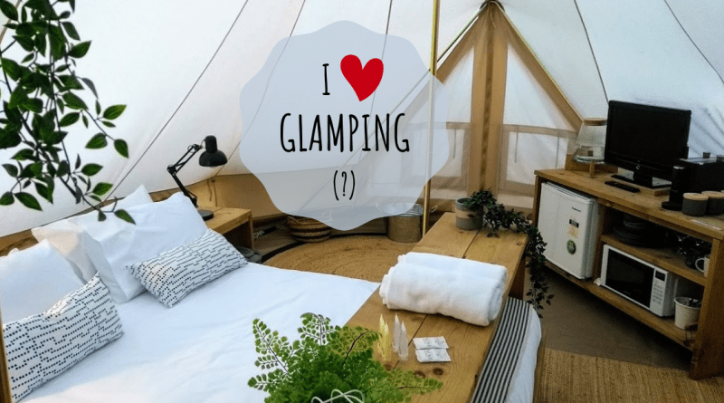 tenda glamping interno