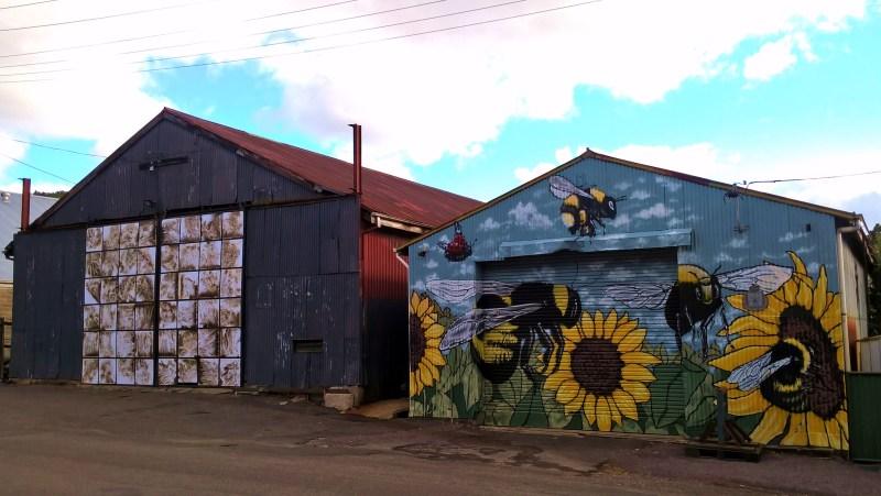 queenstown capannoni con street art
