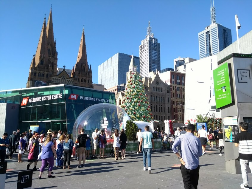 federation square natale melbourne