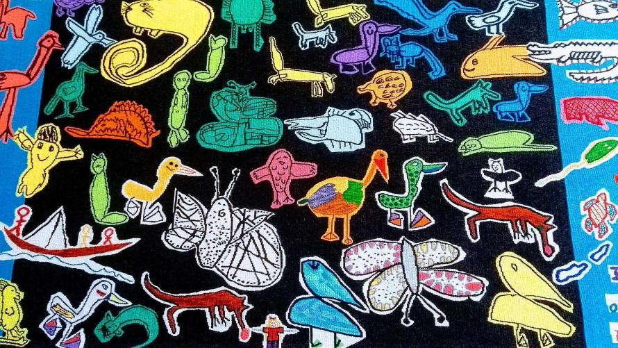 animali forme e colori