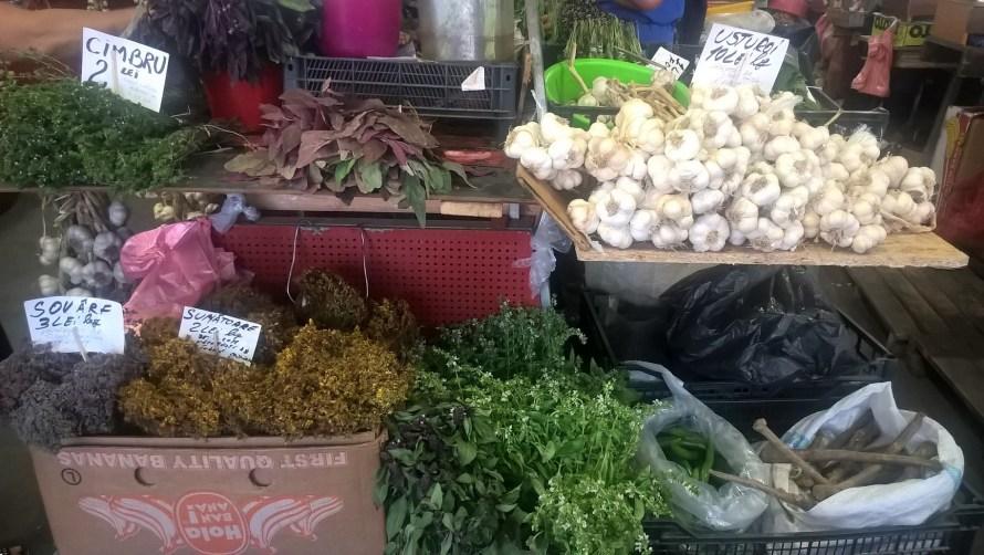 aglio e erbe aromatiche romane