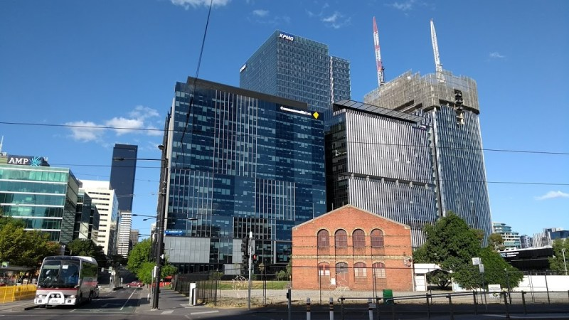 Melbourne palazzi e uffici. Antico e moderno