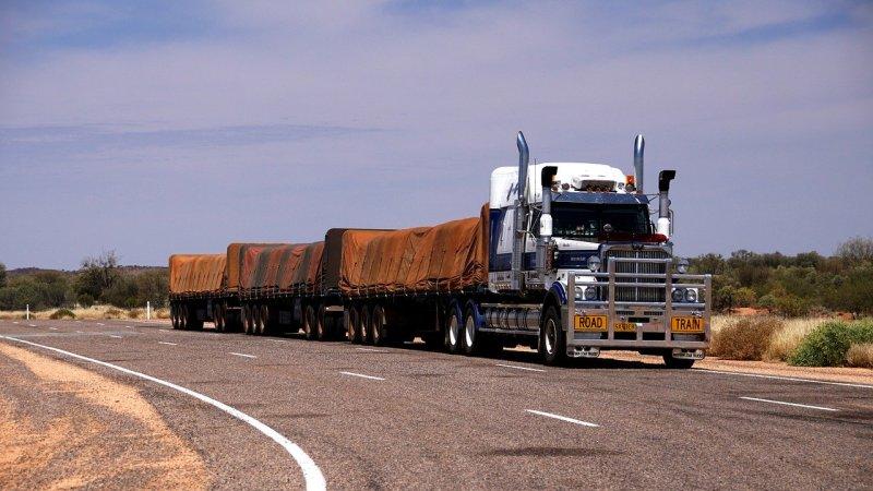 uno tra i più brutti camion australiani