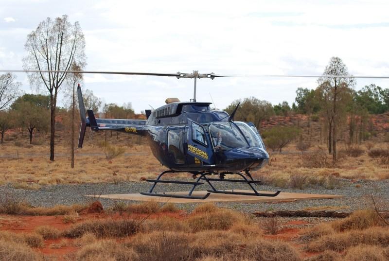Elicottero per sorvolare Uluru e Kata Tjuta