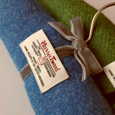 Harris Tweed Padded Hanger