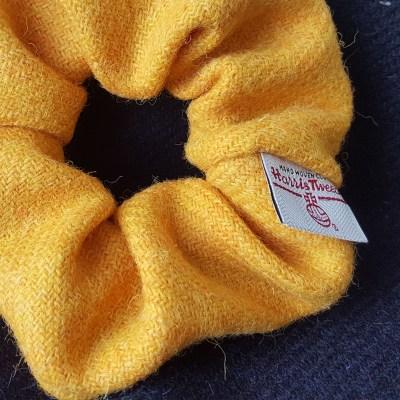 Citrus Yellow Scrunchie
