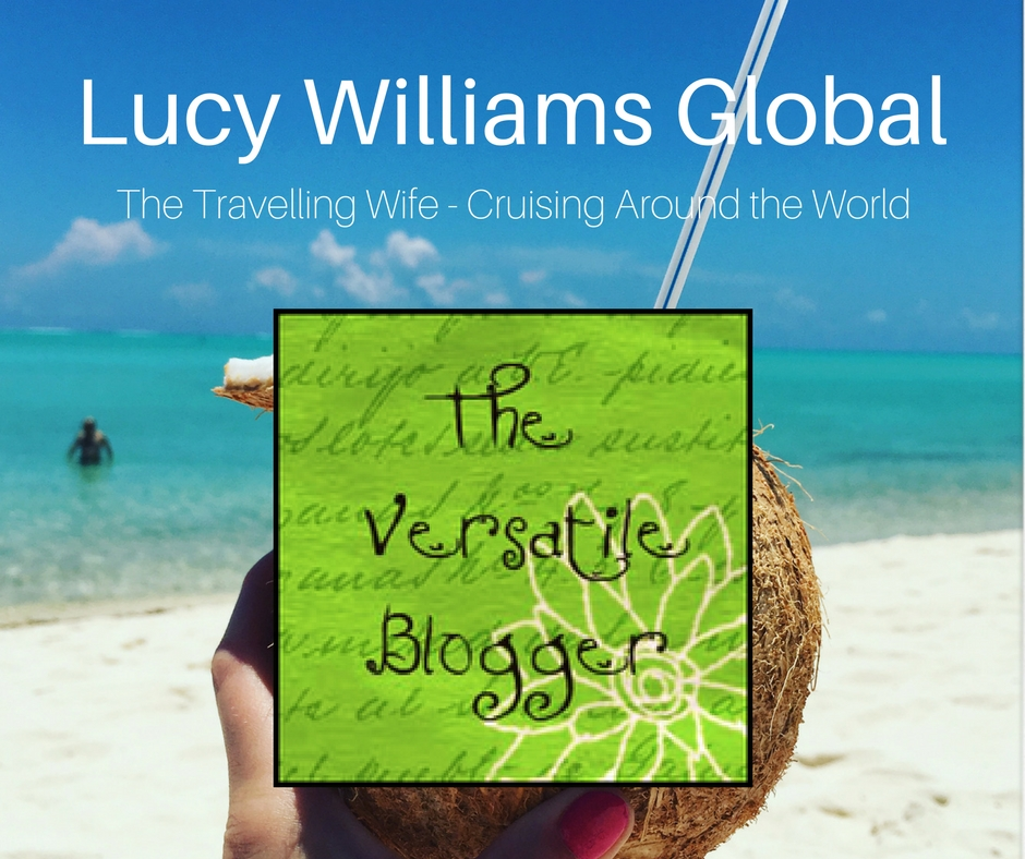 Lucy Williams Global The Versatile Blogger Award