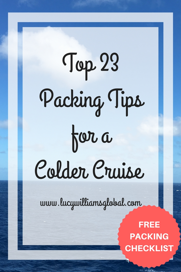 Top 23 Packing Tips for a Colder Cruise