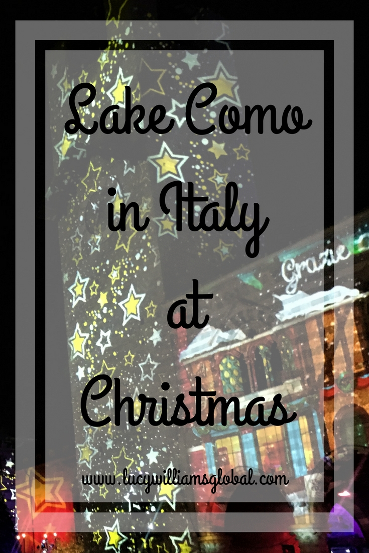 Lake Como in Italy at Christmas - Lucy WIlliams Global UK