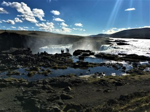Godafoss Waterfall - Lucy Williams Global