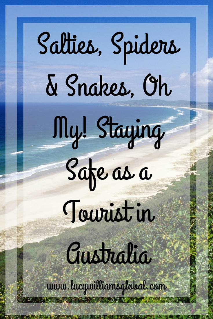 Salties, Spiders and Snakes, Oh My! Staying Safe as a Tourist in Australia