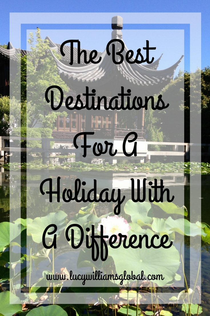 The Best Destinations For A Holiday With A Difference
