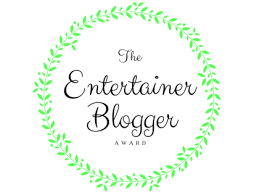 The Entertainer Blogger Award - Lucy Williams Global