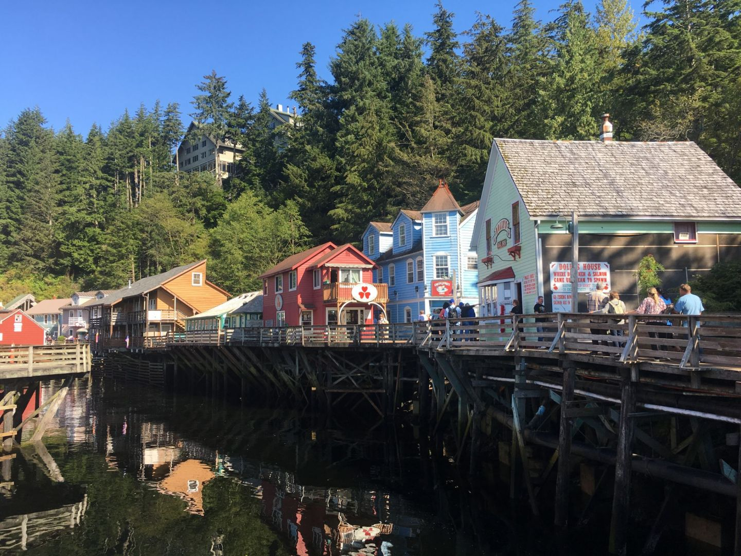 Creek Street Ketchikan Alaska - Lucy Williams Global