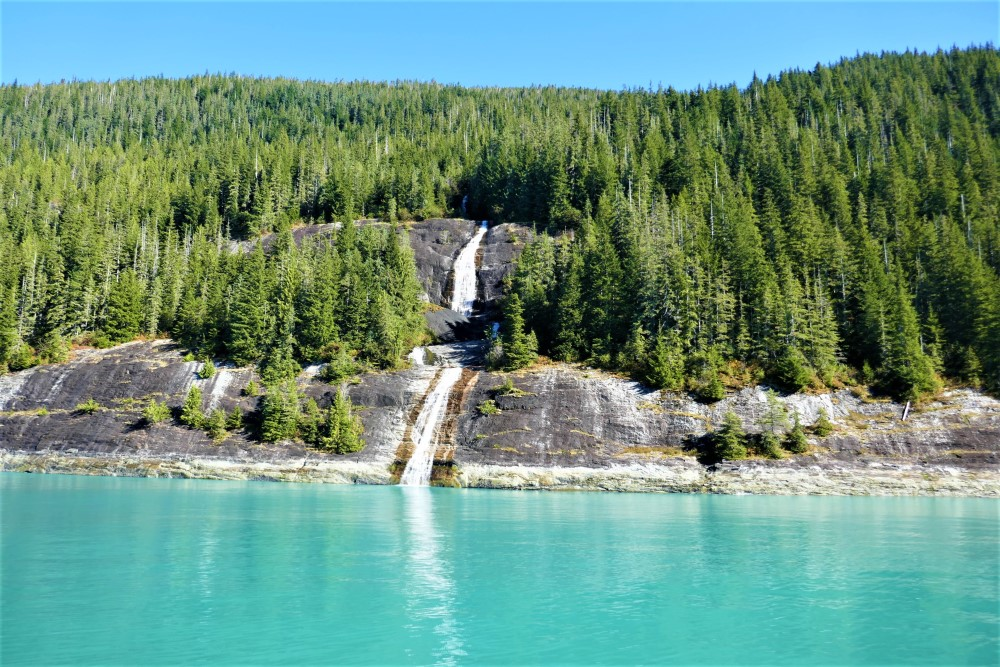 Waterfall Endicott Arm Alaska - Lucy Williams Global