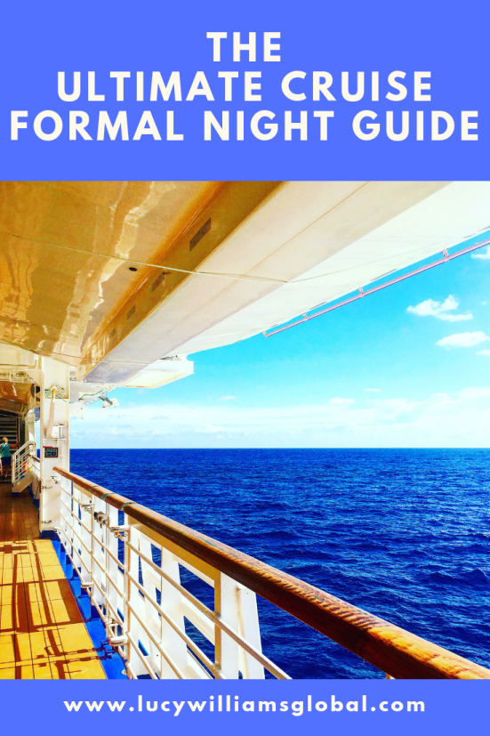 The Ultimate Cruise Formal Night Guide