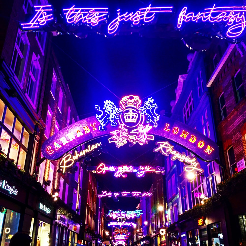 Carnaby London Christmas Lights