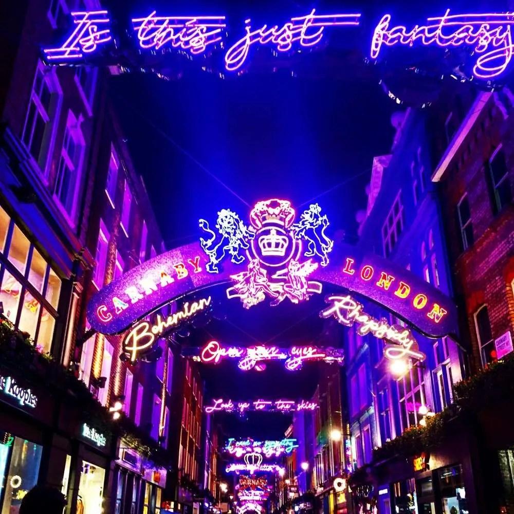 Carnaby London Christmas Lights