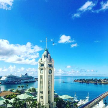 Honolulu Tower - Cruising Travel Update - Lucy Williams Global
