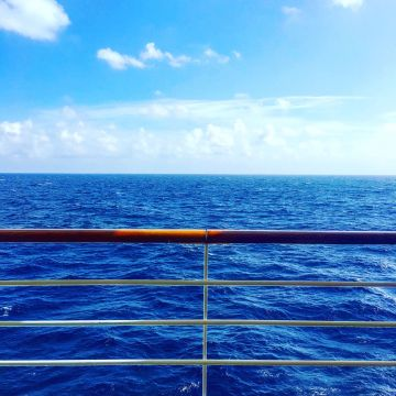 Sea View from a Cruise Ship - Lucy Williams Global