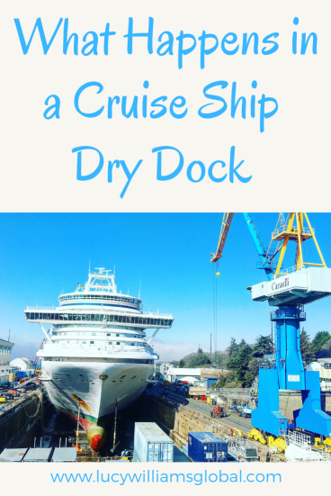 What Happens in a Cruise Ship Dry Dock - Lucy Williams Global