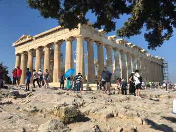 Acropolis Athens Greece - Lucy Williams Global