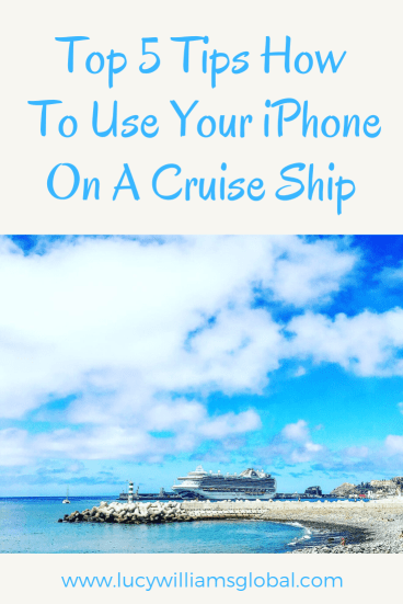 Top 5 Tips How to Use Your iPhone on a Cruise Ship