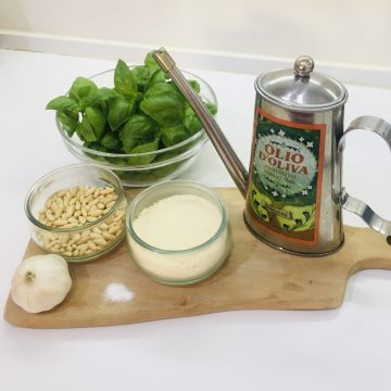 Pesto Ingredients - Lucy Williams Global
