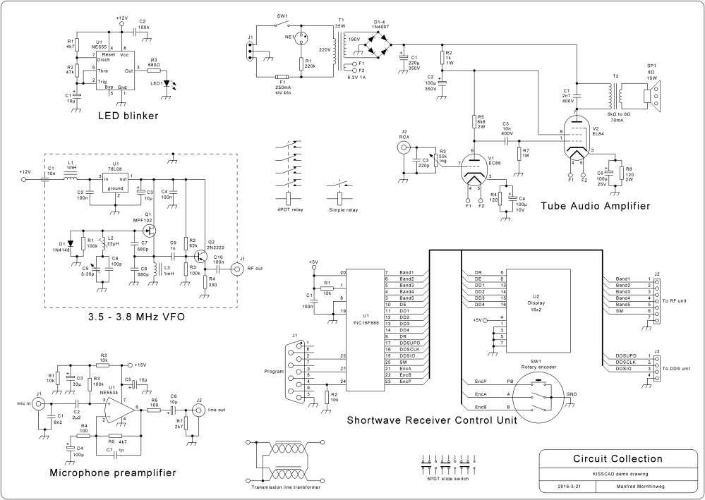 medium resolution of kisscad free schematic diagram drawing software