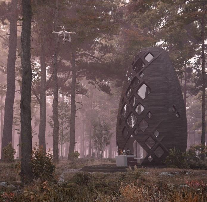 Terra - AI space factory